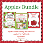 Apples Unit BUNDLE with Literacy and Math Activities, Fun