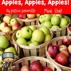 Apples handouts and worksheets