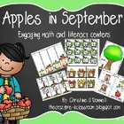 Apples in September: Math and Literacy Centers 150 pgs.!