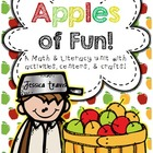 Apples of Fun! {Literacy, Math, & Craft Activities}