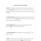Applications of Exponents and Radicals