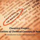 Applications of Chemistry Research Project