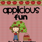 Applicious Fun Math and Literacy Center Packet!!