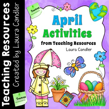 April Activities from Teaching Resources