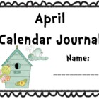 April Calendar Journal (Integrates math and literacy!)