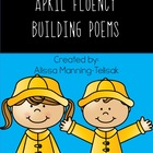 April Fluency Building Poems {Poetry Notebooks}