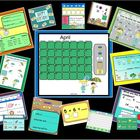 April Fun:  SMARTBOARD Activities and Calendar