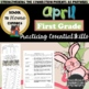 April Homework Packet: 1st Grade (Springtime Fun)
