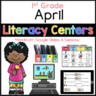 April Literacy Menu 1st Grade