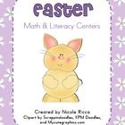 April Math &amp; Literacy Centers