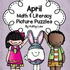 April Math & Literacy Picture Puzzles