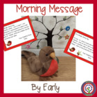 April Morning Message - DOL made fun - CCSS ELA Shelf Elf