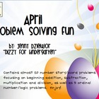 April Problem Solving Fun for the Promethean Board