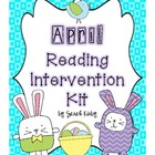 April Reading Intervention Kit
