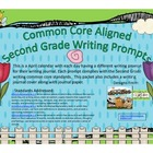 April Second Grade Writng Prompts and Journal Pages (Commo