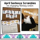 April Sentence Scrambles