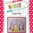 April Showers Bring May Flowers Craft Pack
