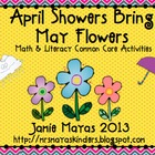 April Showers Bring May Flowers {Literacy &amp; Math Common Co