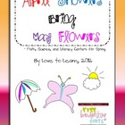 April Showers May Flowers - Spring Centers Literacy, Math,