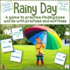 April Showers Prefixes and Suffixes