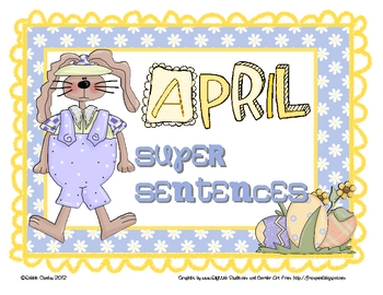 April Super Sentences