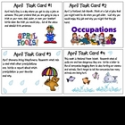 April Task Cards