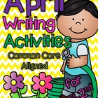 April Writing Activities for 1st-2nd grades