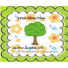 Arabic : Tree ( Shajar ) 3 - Part Cards :