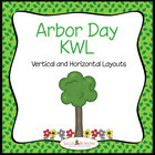 Arbor Day KWL Chart Graphic Organizer