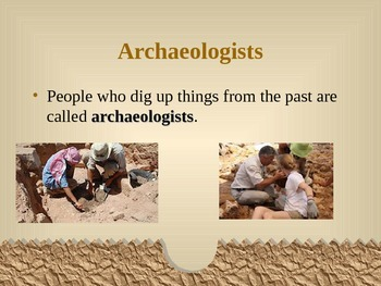 Archaeology--Gotta Dig It PowerPoint