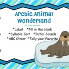 Arctic Animal Wonderland w Penguins, Seals, Walrus&#039;, Polar