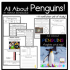 Arctic Animals: All About Penguins: A Nonfiction Book Study