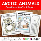 Arctic Animals Craftivity Book