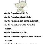 Arctic Animals Fact Sheet and Activities