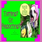 Are You Tattling? Or Reporting?  Rescue Dogs' Social Skill