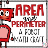 Area & Perimeter Robot Craft