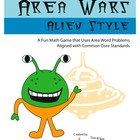 Area War - A Word Problem Math Game - Aligned with CCSS.3.MD.C.7b