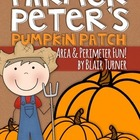 Area and Perimeter Lesson {Farmer Peter&#039;s Pumpkin Patch}