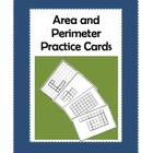 Area and Perimeter Practice Cards