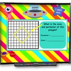 Area and Perimeter SMART BOARD Game