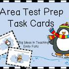 Area of Irregular Polygons Test Prep Task Cards Differenti