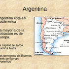 Argentina PowerPoint for Spanish I-II