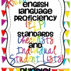 Arizona English Language Proficiency Standards Checklists Bundle