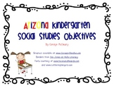 Arizona Kindergarten Social Studies Objectives