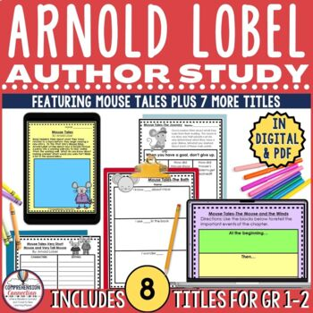 Arnold Lobel Author Study Frog and Toad, Mouse Soup, Owl at Home