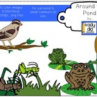 Around the Pond Clipart {Kady Did Doodles}