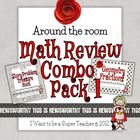 Around the Room Math Reviews Combo Pack