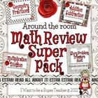 Around the Room Math Reviews Super Pack