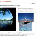 Around the World Webquest (aligned with Common Core)