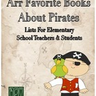 &quot;Arr Favorite Books About Pirates&quot; - A List for Elementary